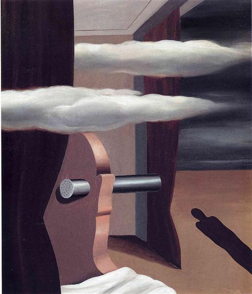 The catapult of desert, 1926 - Rene Magritte