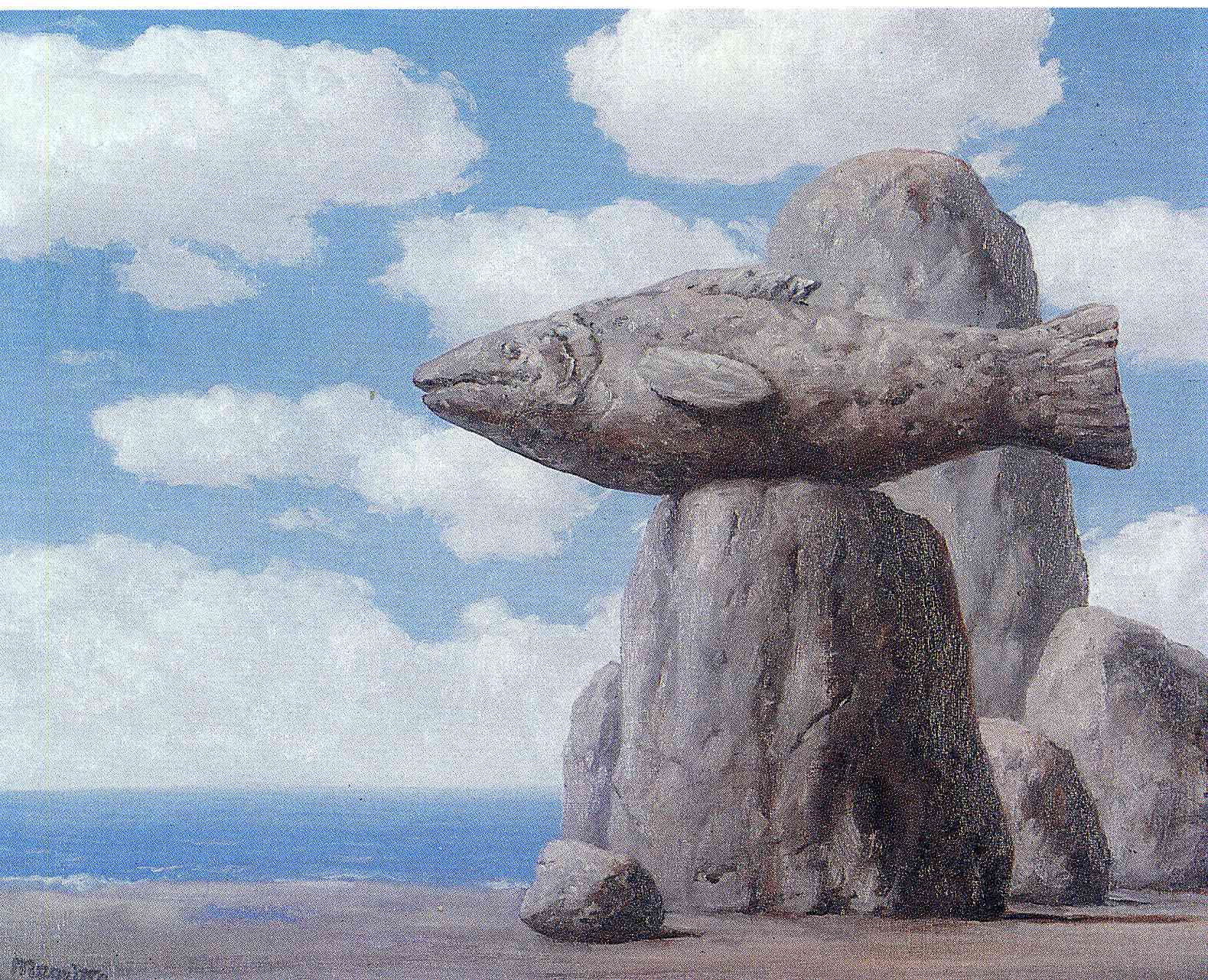 The connivance 1965 rene magritte for Stone mountain fishing