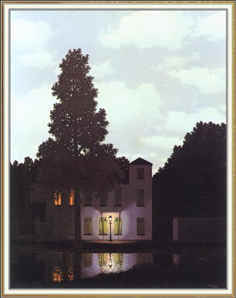 The empire of lights, 1954 - Rene Magritte
