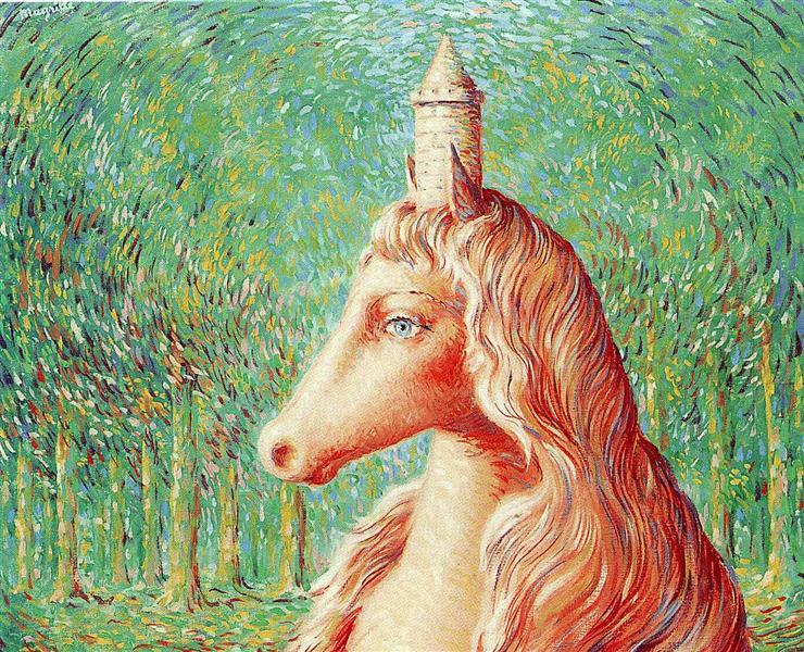 The fine idea, 1964 - Rene Magritte