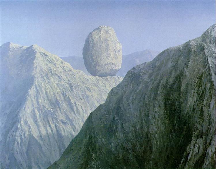 The glass key, 1959 - René Magritte