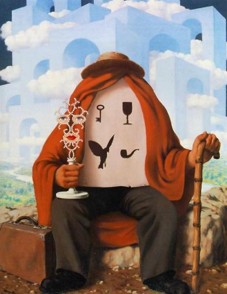 The liberator, 1947 - René Magritte