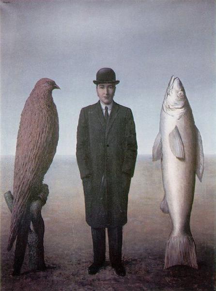 The presence of spirit, 1960 - Rene Magritte
