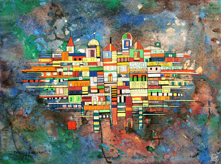 City, 1954 - Rene Portocarrero