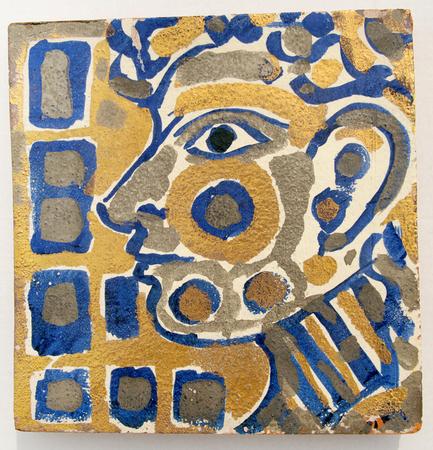 Face, 1965 - Rene Portocarrero