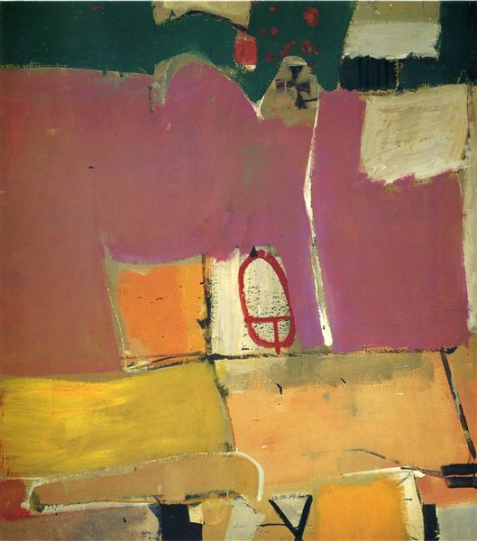 Albuquerque No. 4 - Richard Diebenkorn