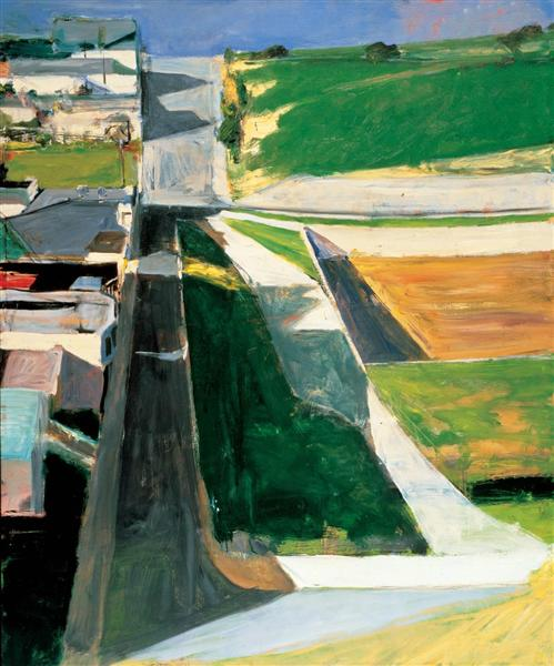 Cityscape I, 1963 - Richard Diebenkorn