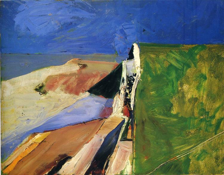 Seawall - Richard Diebenkorn