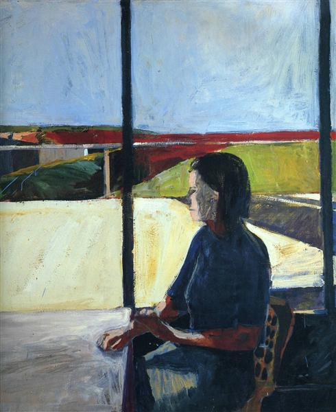 Woman in Profile, 1958 - Richard Diebenkorn
