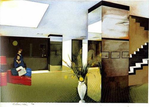 Lobby, 1984 - Richard Hamilton