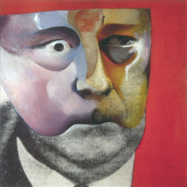 Portrait of Hugh Gaitskill as a Famous Monster of Filmland, 1964 - Richard Hamilton