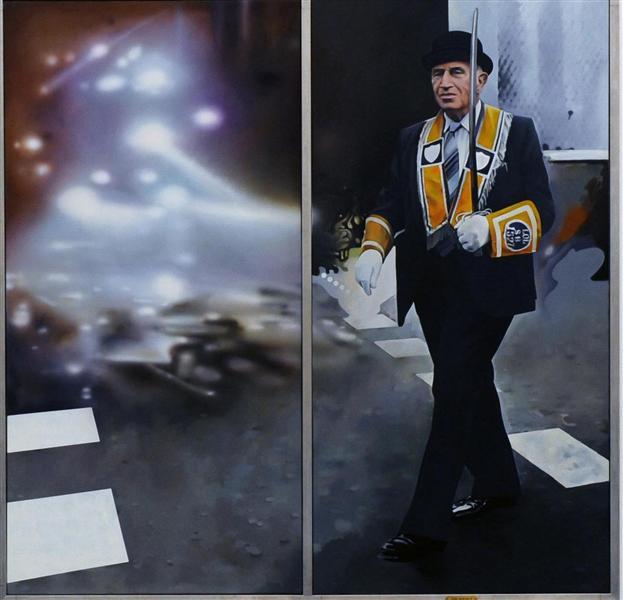 The Orangeman, 1990 - Richard Hamilton