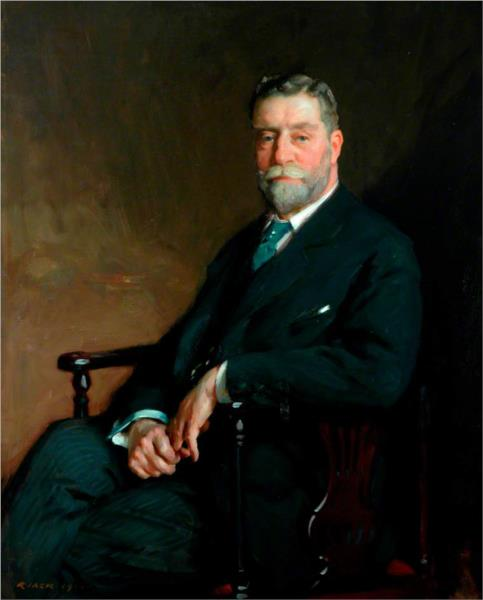 Sir John C. Horsfall, Bt, Chairman of the County Council of the West Riding of Yorkshire - Річард Джек