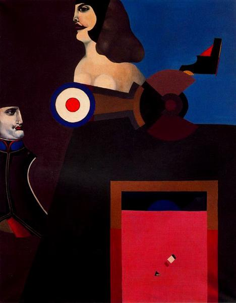 Napoleon Still Life - Richard Lindner