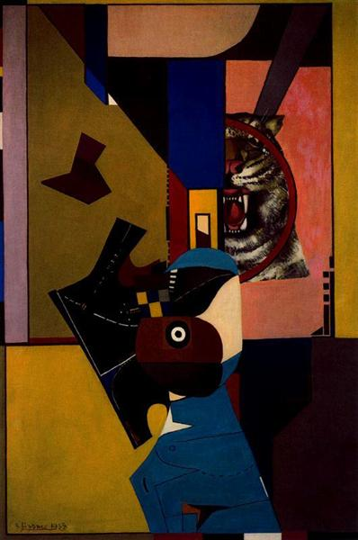 The Scream - Richard Lindner