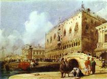 The Doge's Palace, Venice - Річард Паркс Бонінгтон