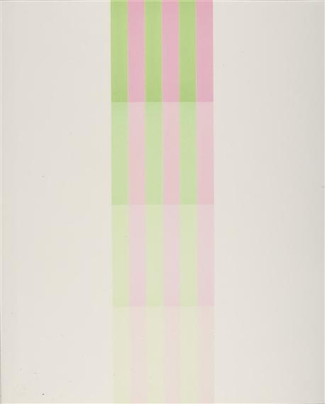 Farbstreifen, 1972 - Ріхард Пауль Лозе