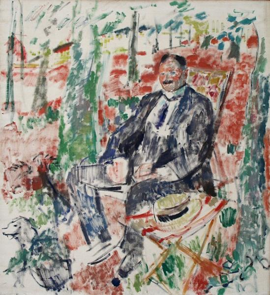 Man with Straw Hat, 1913 - Rik Wouters