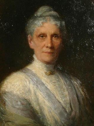 Portrait of Anna H. Leonowens (detail), 1905 - Robert Harris