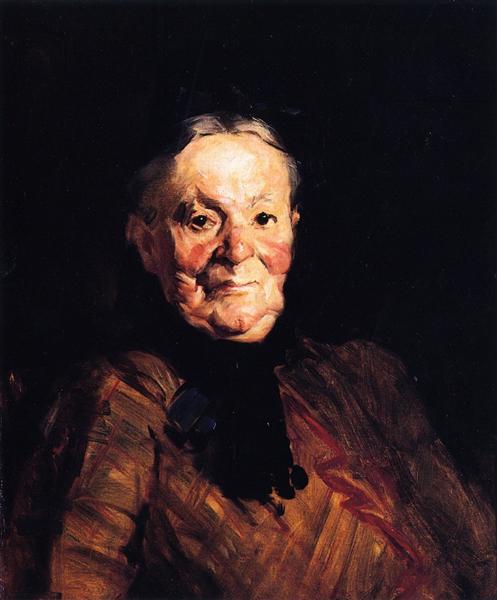 Dutch Match Woman, 1910 - Robert Henri