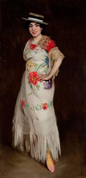 El Tango, 1908 - Robert Henri
