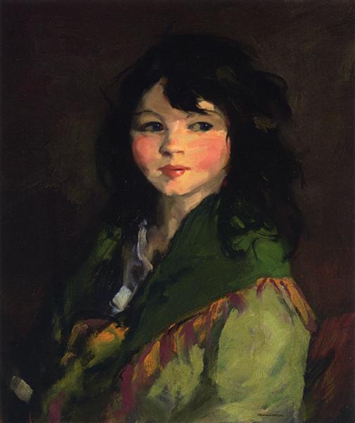 Francine, 1921 - Robert Henri