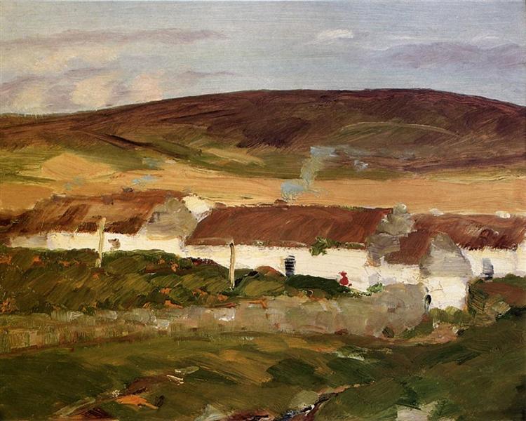 Irish Cottage - Robert Henri