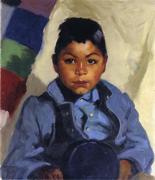 Little Indian, 1917 - Robert Henri