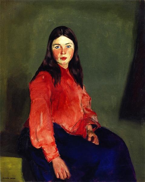 Mary of Connemara, 1913 - Robert Henri