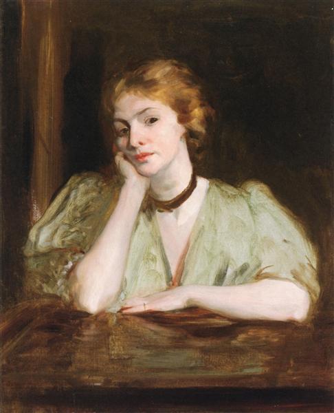 Miss Jessica Penn - Robert Henri