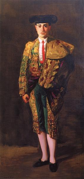 Portrait of El Matador, Felix Asiego, 1906 - Robert Henri