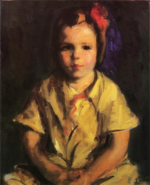 Portrait of Faith, 1927 - Robert Henri