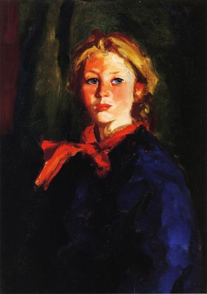 Portrait of Katie McNamara, 1928 - Robert Henri