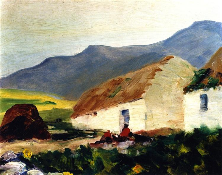 Road to Corrymore, 1913 - Robert Henri