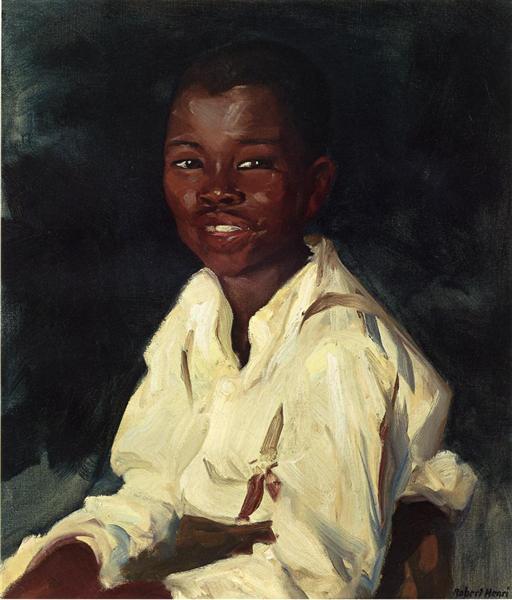 Sylvester-Smiling, 1914 - Robert Henri