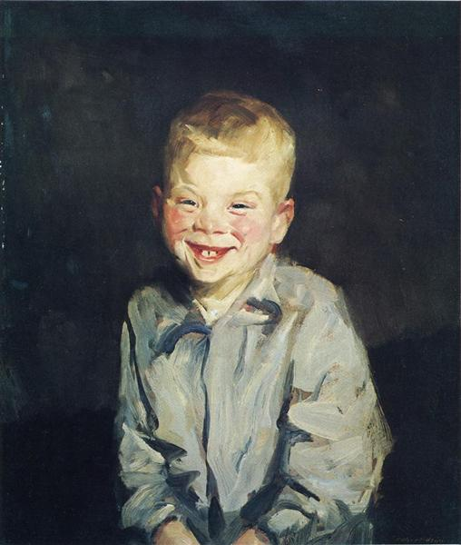 The Laughing Boy (Jobie) - Robert Henri