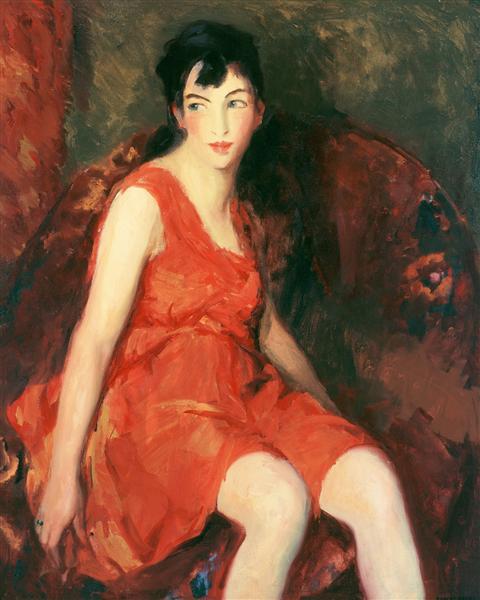 The Little Dancer, 1918 - Роберт Генри