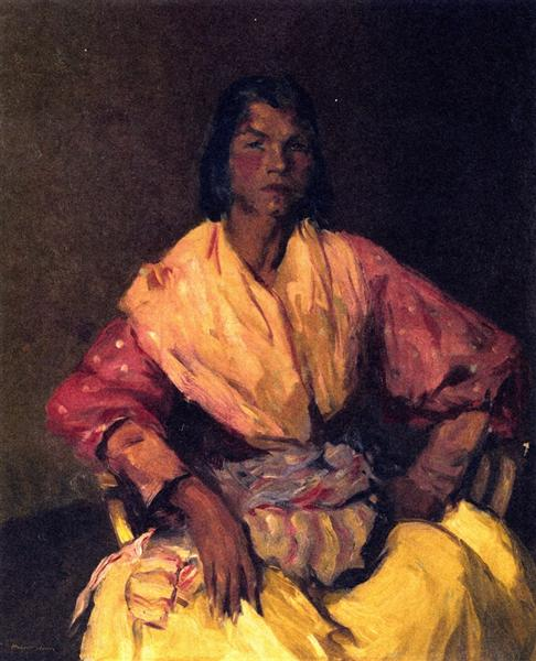 The Spanish Gypsy, 1912 - Robert Henri