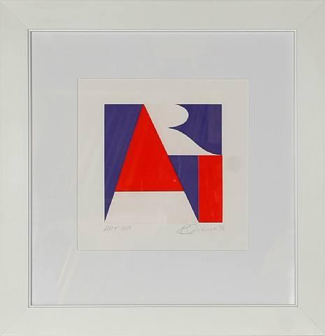 The American Art, 1992 - Robert Indiana