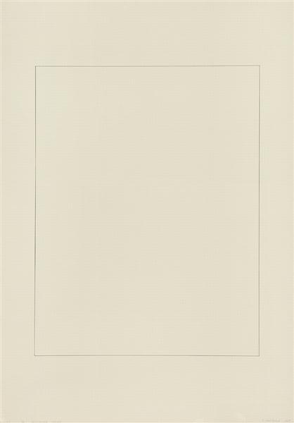 104″ Perimeter Series, 1969 - Robert Mangold
