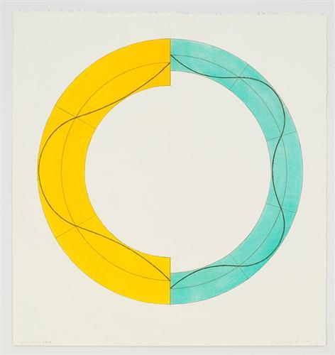 Split Ring Image - Robert Mangold