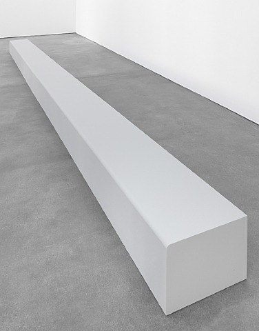 Floor Piece (Bench), 1964 - Robert Morris