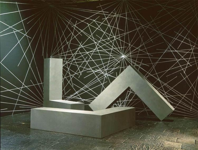 Untitled (L-Beams), 1965 - Роберт Моррис