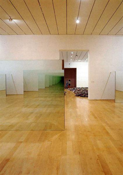 Untitled Williams Mirrors 1977 Robert Morris