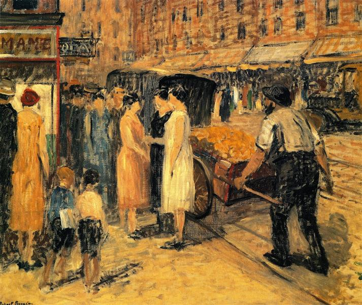Lower East Side, 1930 - Robert Spencer