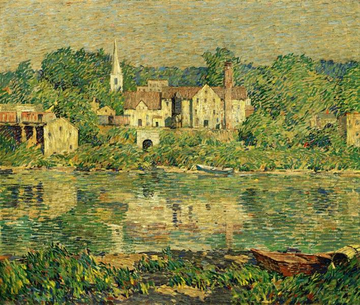 The Green River, 1920 - Robert Spencer