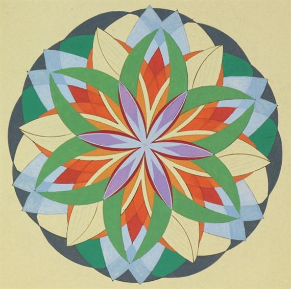 Rosette, 1956 - Robert Strubin