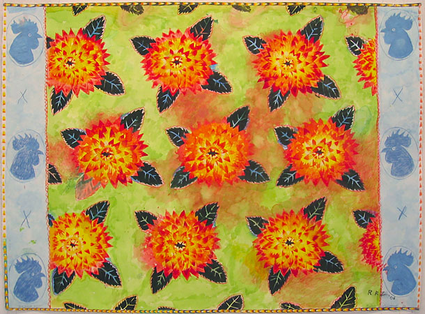 Chicken Flower, 2007 - Robert Zakanitch