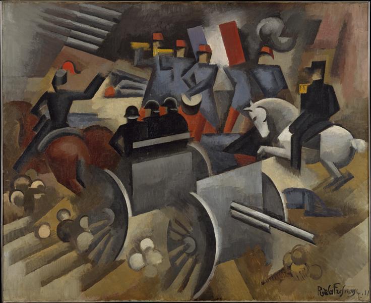 Artillery, 1911 - Roger de La Fresnaye