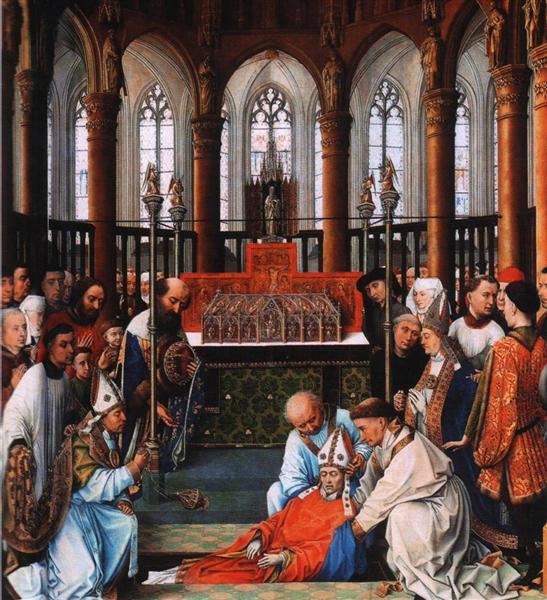 Exhumation of Saint Hubert, 1437 - 1440 - Rogier van der Weyden